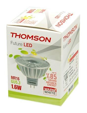 Лампа светодиодная Thomson RTMR-1616GU5.3-WW 1.6Вт - фото 1