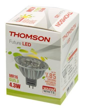 Лампа светодиодная Thomson RTMR-1643GU5.3-WW 4.3Вт - фото 1