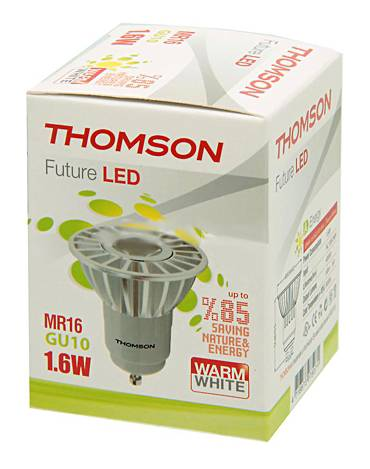 Лампа светодиодная Thomson RTMR-1616GU10-WW 1.6Вт - фото 1