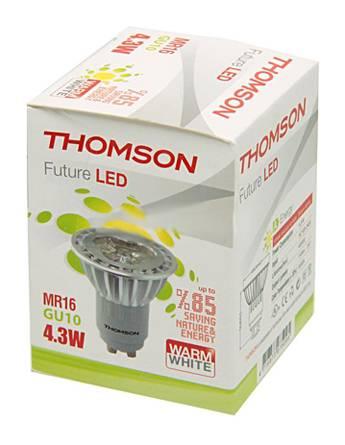 Лампа светодиодная Thomson RTMR-1643GU10-WW 4.3Вт - фото 1