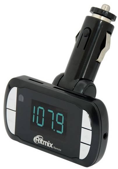 FM-модулятор Ritmix FMT-A770 черный - фото 1