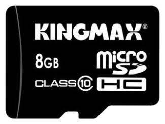 Карта памяти 8Gb Kingmax microSDHC - фото 1
