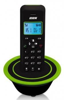 Телефон BBK BKD-815RU черный / зеленый