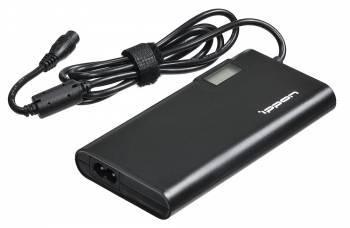 Блок питания Ippon SD65U черный, мощность 65Вт, выходное напряжение от 15 до 19.5В, длина кабеля 1.1м, питание от бытовой электросети