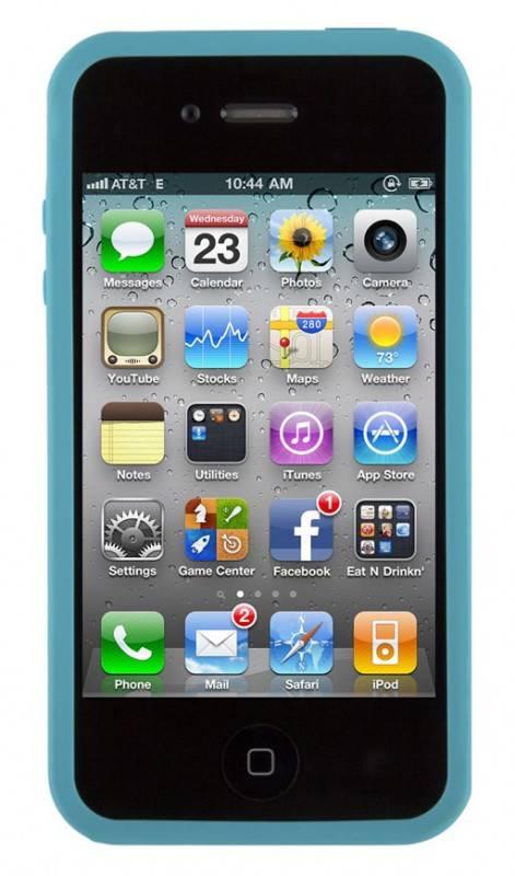Чехол (клип-кейс) Speck PixelSkin HD голубой - фото 2