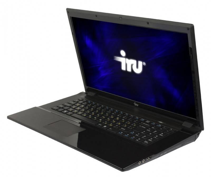 """Ноутбук 17.3"""" IRU Patriot 701 черный - фото 2"""
