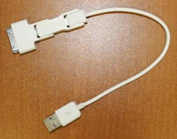 Адаптер 30-pin (Apple)-micro USB B (m)