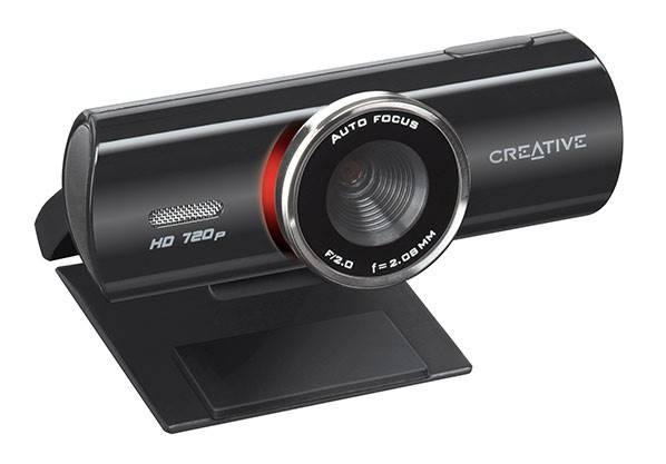 Веб-камера Creative Live! Cam Connect HD черный - фото 2