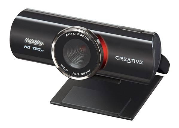 Веб-камера Creative Live! Cam Connect HD черный - фото 3