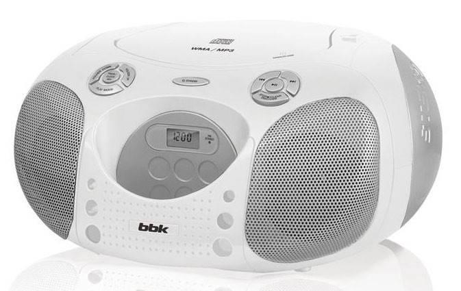 Магнитола BBK BX110BT белый - фото 1