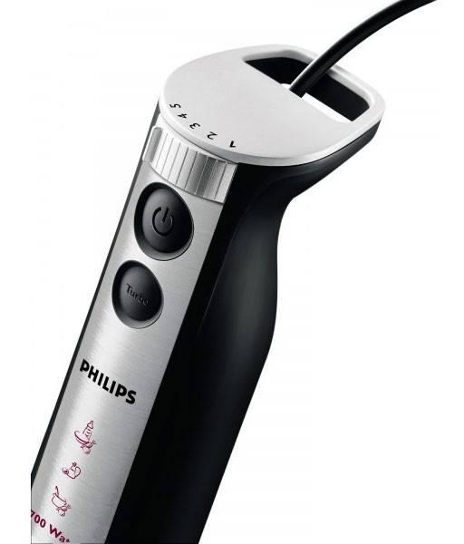 Блендер погружной Philips HR1374/90 черный - фото 3
