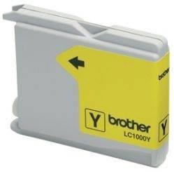 Картридж струйный Brother LC1000Y желтый - фото 1