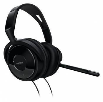Наушники с микрофоном Philips SHM6500 / 10 черный