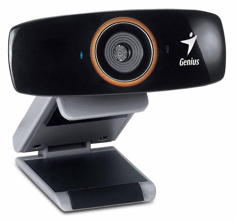 Веб-камера Genius FaceCam 1020 черный - фото 1