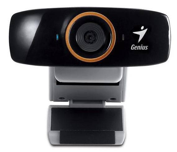 Веб-камера Genius FaceCam 1020 черный - фото 2