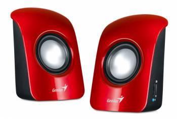 Акустическая система 2.0 Genius SP-U115 красный