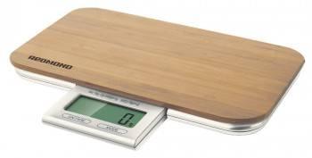 Кухонные весы Redmond RS-721 светло-коричневый (RS-721 (ДЕРЕВО))