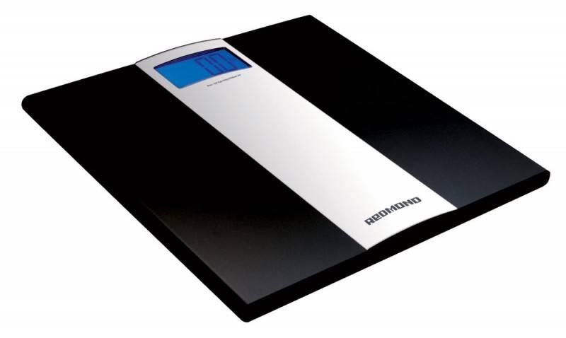 Весы напольные электронные Redmond RS-710 черный - фото 1