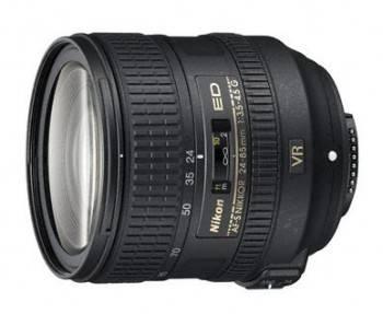 Объектив Nikon AF-S ED VR 24-85mm f / 3.5-4.5
