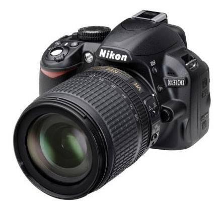 Фотоаппарат Nikon D3100 1 объектив черный - фото 1