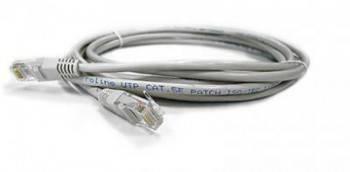 Кабель Патч-корд Molex UTP PCD-01019-0E вилка RJ-45-вилка RJ-45 кат.5е 10м серый