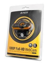 Веб-камера A4 PK-920H-2 черный - фото 2