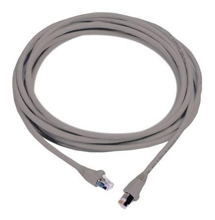Патч-корд Molex PCD-00309-0E RJ-45 (m)-RJ-45 (m) cat6 3м серый (PCD-00309-0E) - фото 1