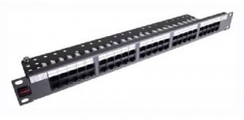 """Патч-панель Molex Lite PID-00234-04 19"""" 1U 24xRJ45"""