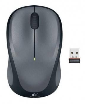 Мышь Logitech M235 серый / черный