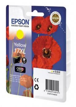 Картридж струйный Epson T1714 C13T17144A10 желтый