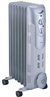 Масляный радиатор Rolsen ROH-D7 белый