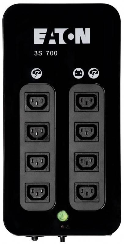 ИБП Eaton 3S700IEC черный - фото 3