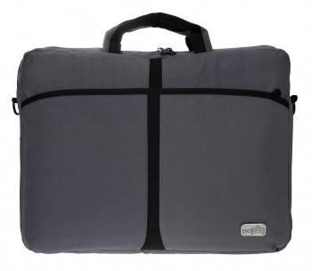 "Сумка для ноутбука 17.3"" PC Pet 600D серый (PCP-A1317GY)"