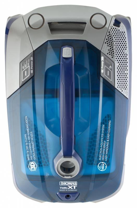 Моющий пылесос Thomas Twin XT синий/серебристый - фото 3