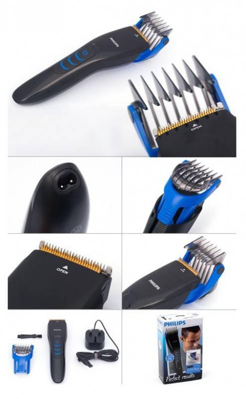 Машинка для стрижки волос Philips QC5360 черный - фото 5