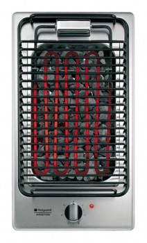 Электрический гриль Hotpoint-Ariston DK B (IX) серебристый