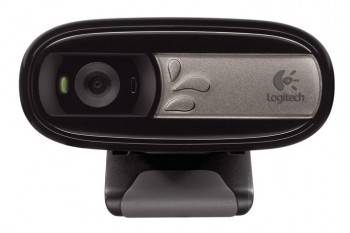 Камера Web Logitech WebCam C170 черный (960-000957)