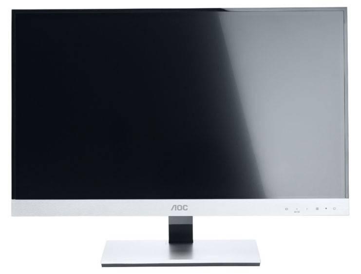 """Монитор ЖК AOC E2357Fm  23"""" (58.4см) 1920x1080 16:9 TN+film глянцевая FULL HD (1080p) черный - фото 1"""