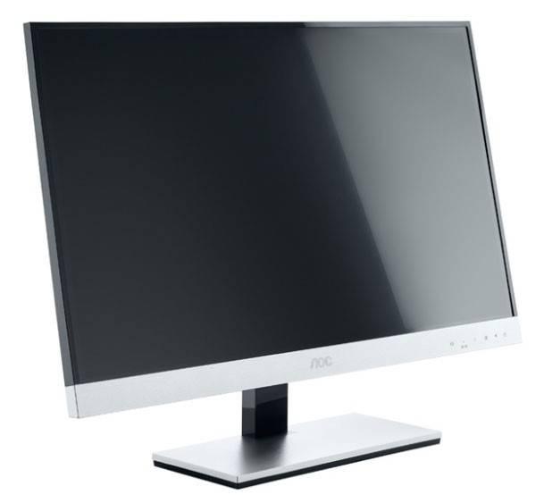 """Монитор ЖК AOC E2357Fm  23"""" (58.4см) 1920x1080 16:9 TN+film глянцевая FULL HD (1080p) черный - фото 4"""