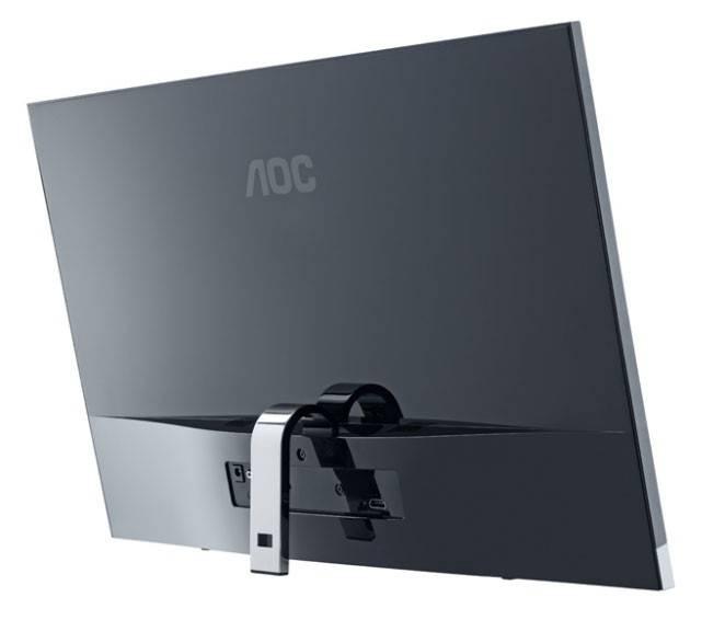 """Монитор ЖК AOC E2357Fm  23"""" (58.4см) 1920x1080 16:9 TN+film глянцевая FULL HD (1080p) черный - фото 9"""