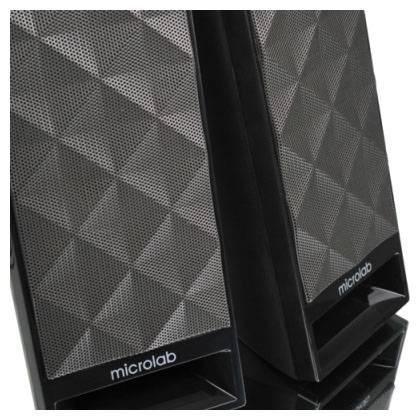 Колонки Microlab B53 черный, материал корпуса пластик, акустический тип 2.0, суммарная звуковая мощность 3Вт, питание от USB - фото 4
