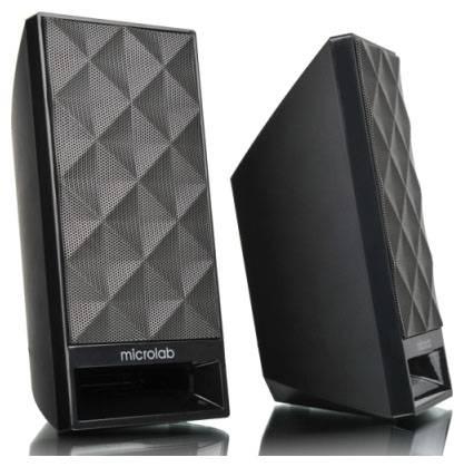 Колонки Microlab B53 черный, материал корпуса пластик, акустический тип 2.0, суммарная звуковая мощность 3Вт, питание от USB - фото 3