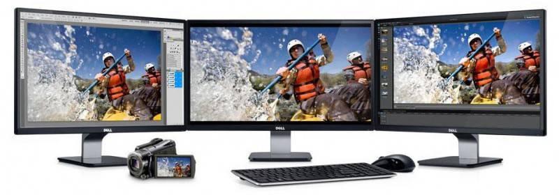 """Монитор Dell 23"""" S2340L Black IPS LED 7ms 16:9 HDMI 1000:1 250cd - фото 4"""