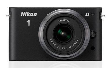 Фотоаппарат Nikon 1 J2 kit черный - фото 1