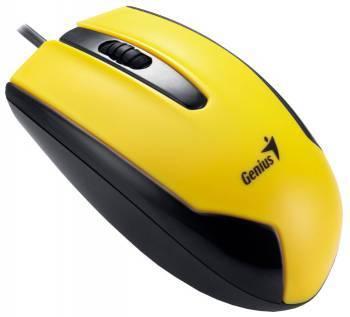 Мышь Genius DX-100 черный/желтый (GM-DX 100 Y)
