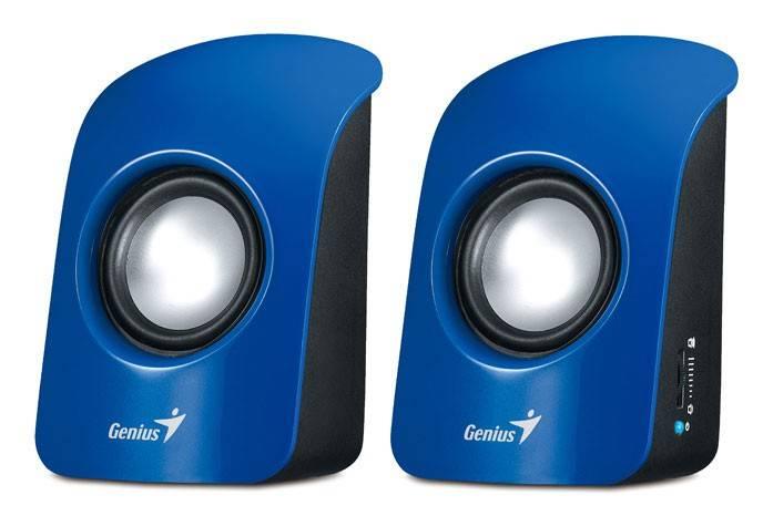 Колонки 2.0 Genius SP-U115 синий - фото 1