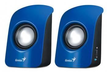 Акустическая система 2.0 Genius SP-U115 синий