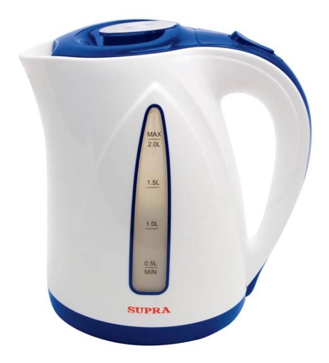 Чайник электрический Supra KES-2004 синий/белый (1562) - фото 1