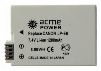 Аккумулятор для зеркальных камер AcmePower AP-LP-E8