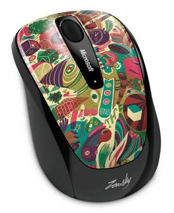 Мышь Microsoft 3500 Artist рисунок/черный - фото 1